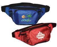 Embroidered Or Silk Screened Fanny Pack