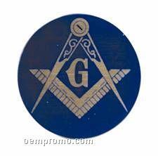 "Full Color Mylar Insert - 2"" Masonic Lodge"