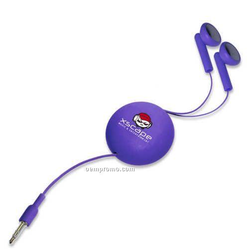 Bluetooth headphones retractable purple - purple headphones under 15