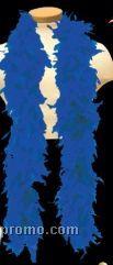 6' Royal Blue Solid Color Boa