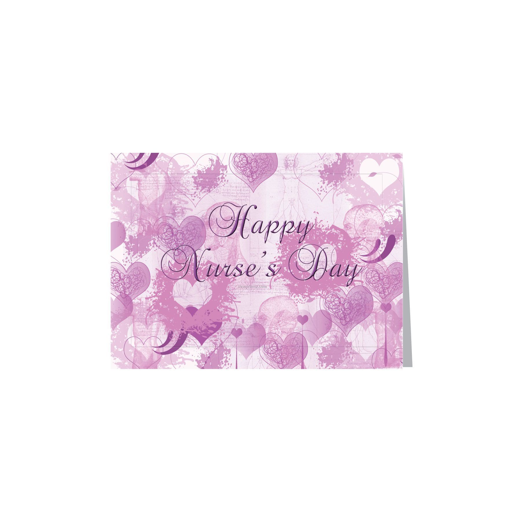 Happy nurses day heart greeting cardchina wholesale happy nurses happy nurses day heart greeting card m4hsunfo Image collections