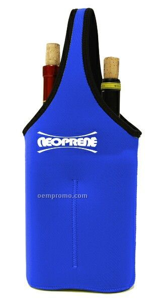 Neoprene Double Bottle Sleeve - Royal Blue