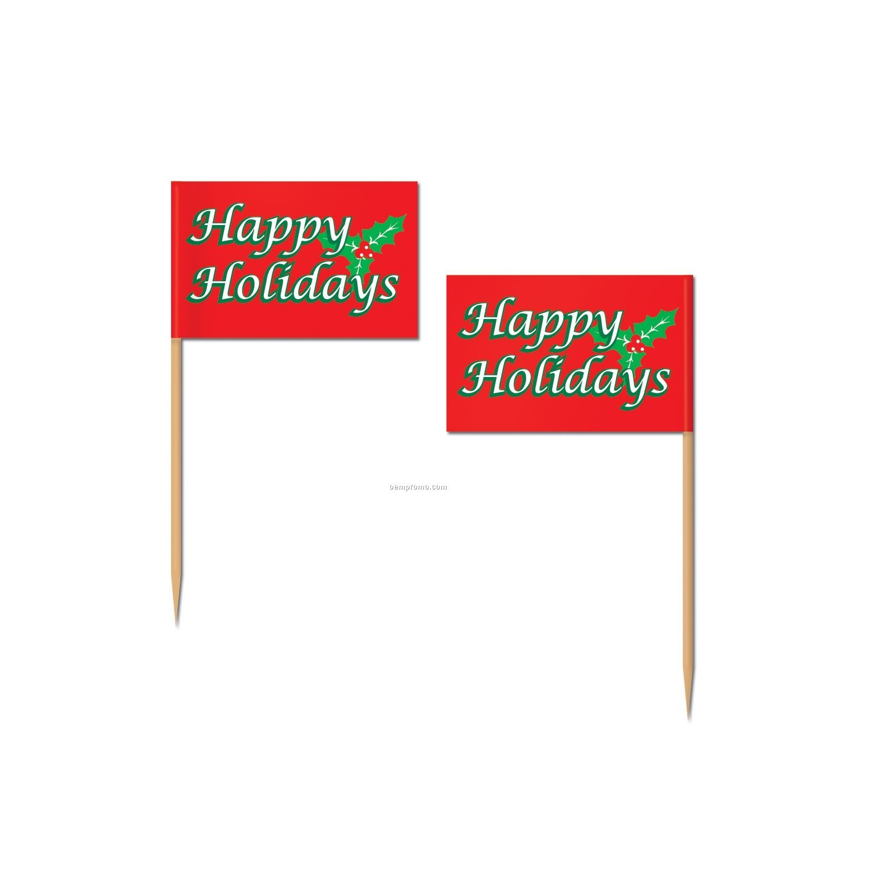 Holiday Flag Picks