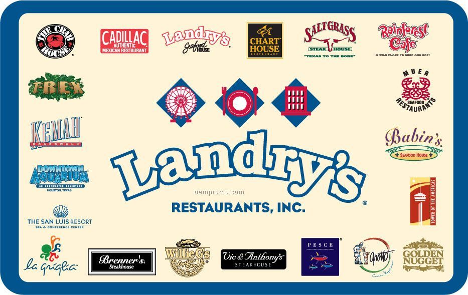 $100 Landry's Seafood House Gift Card