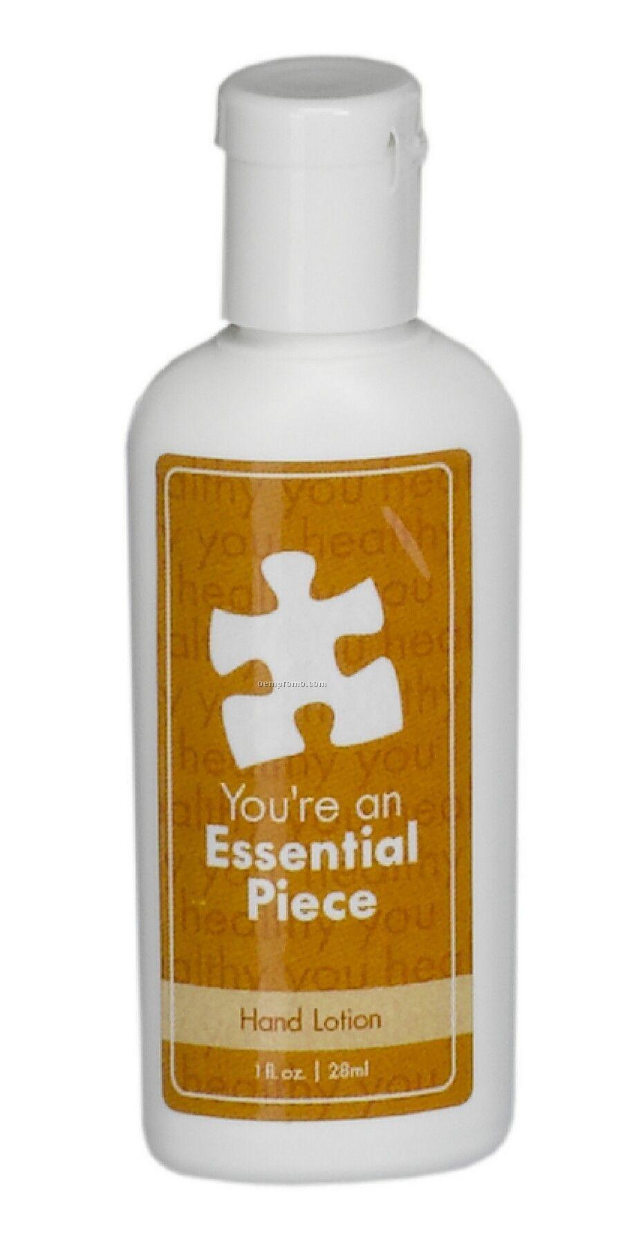 1 Oz. Spf 30 Sunscreen Lotion In Oval Bottle