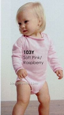 Bella Baby Infant Long Sleeve Thermal One Piece