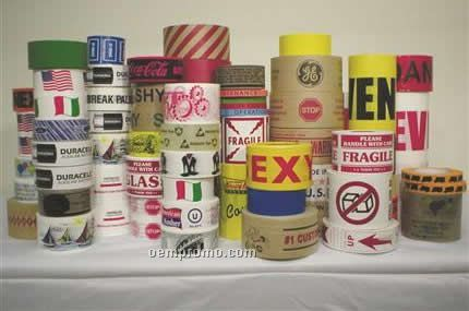 Custom Printed Colored Upvc Carton Sealing Tape