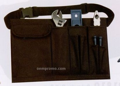 Tool Organizer On Belt W/ Velcro Pocket For Accessories
