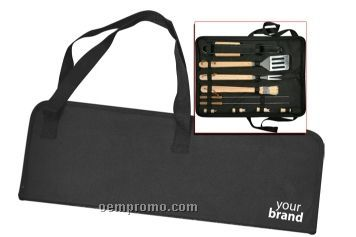 10-piece Barbeque Utensils With Case