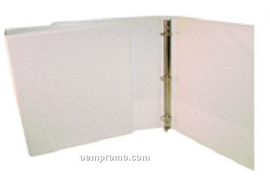 3 Ring View Binder W Front Overlay