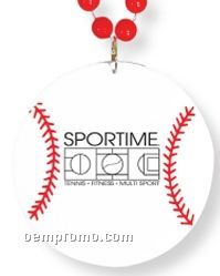 Baseball Sport Medallion Necklaces (Printed)