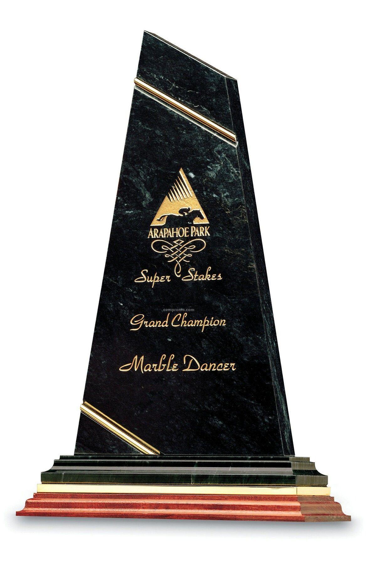 Grande Trendsetter Achievement Award (Green Marble)