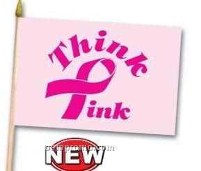 Pink Ribbon Flag Pik