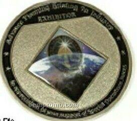 1.2 Mm Steel 3-d Coin