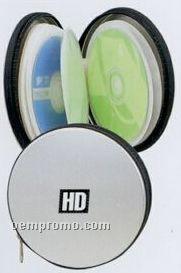 Round Aluminum CD Holder