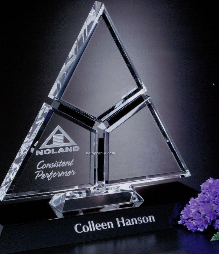 "Sable Gallery Crystal Amour Award (9"")"