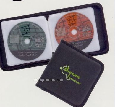 24 CD Holder W/ Zipper Closure