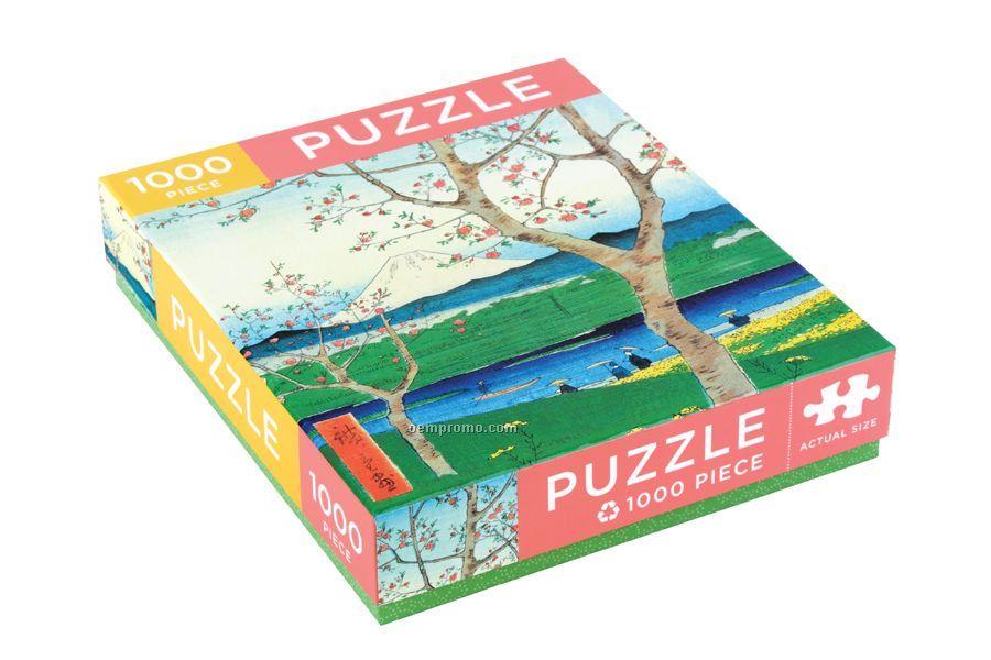 Hiroshige Japanese View Puzzle