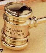 Solid Brass Executive Gavel W/ Presentation Case