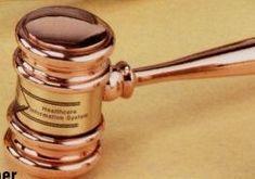 Copper Executive Gavel W/ Presentation Case