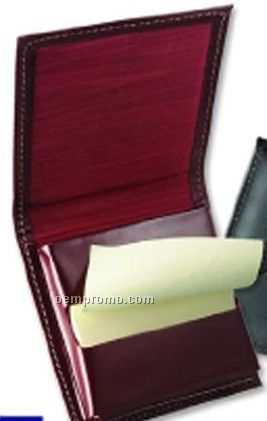 Pop Up Leather Note Pad (3