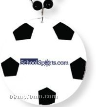 Soccer Ball Sport Medallion Necklaces (Printed)
