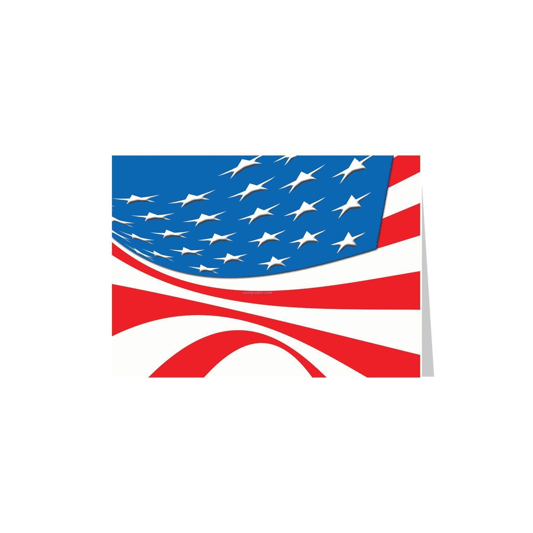 American Flag Patriotic Greeting Cardchina Wholesale American Flag