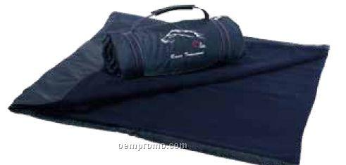 Navy Blue Explorer Picnic Blanket