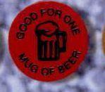 Round Stock Drink Token