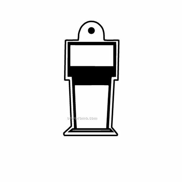 Stock Shape Collection Gas Pump 2 Key Tag