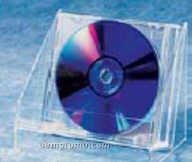 Clear Acrylic One Pocket CD Holder