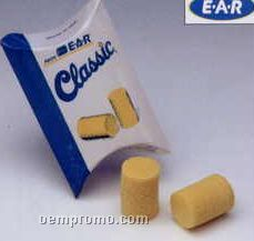 Ear Classic Foam Uncorded Earplugs/ Pillow Pack (200 Pair/Box)