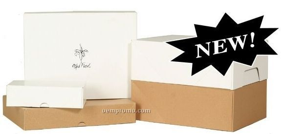 Kraft Stationery Box W/ Letter 2 Ream (11.125