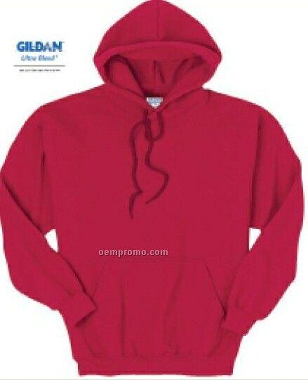 Gildan Adult Ultra Blend Hooded Sweatshirt (S-xl) Neutral