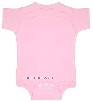 Rabbit Skins Infant Creeper (90% Cotton/ 10% Polyester)