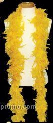 6' Gold Solid Color Boa