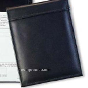 Deluxe Prescription Pad Holder - Top Grain Cowhide Leather