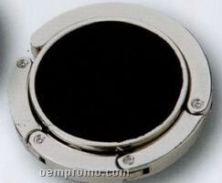 "Round Metal Bag Holder W/ Magnet (3/8"")"