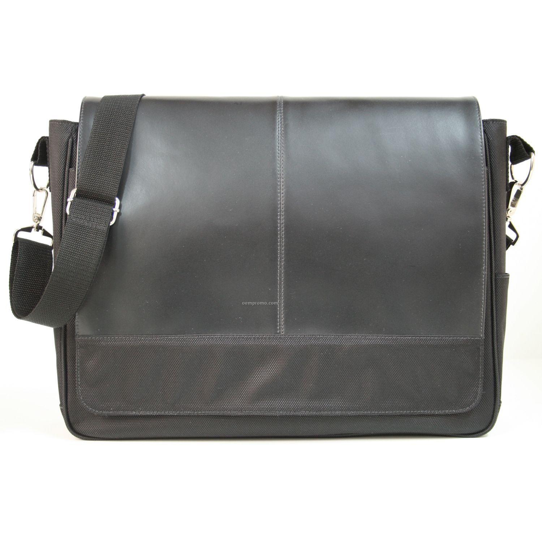 Royce Leather Messenger Bag