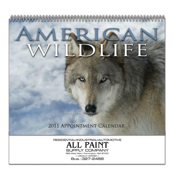 Stapled Wall Calendar (North American Wildlife)