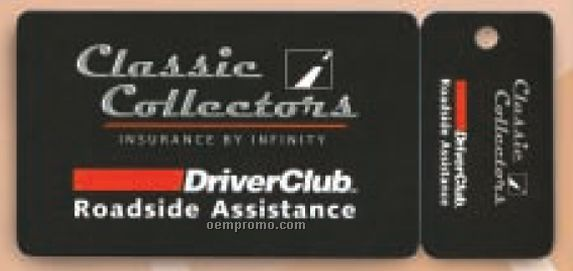 Heavy Weight Laminated Card Tag For Loyalty Or Membership