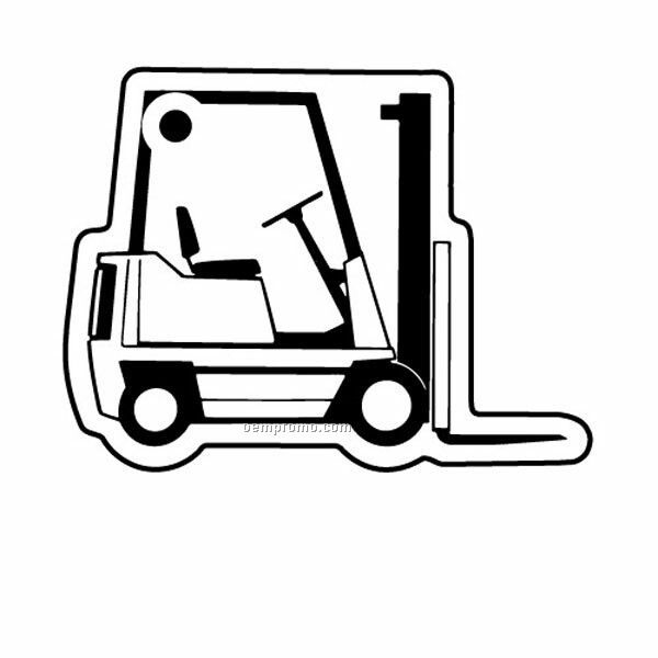 Stock Shape Collection Forklift 1 Key Tag