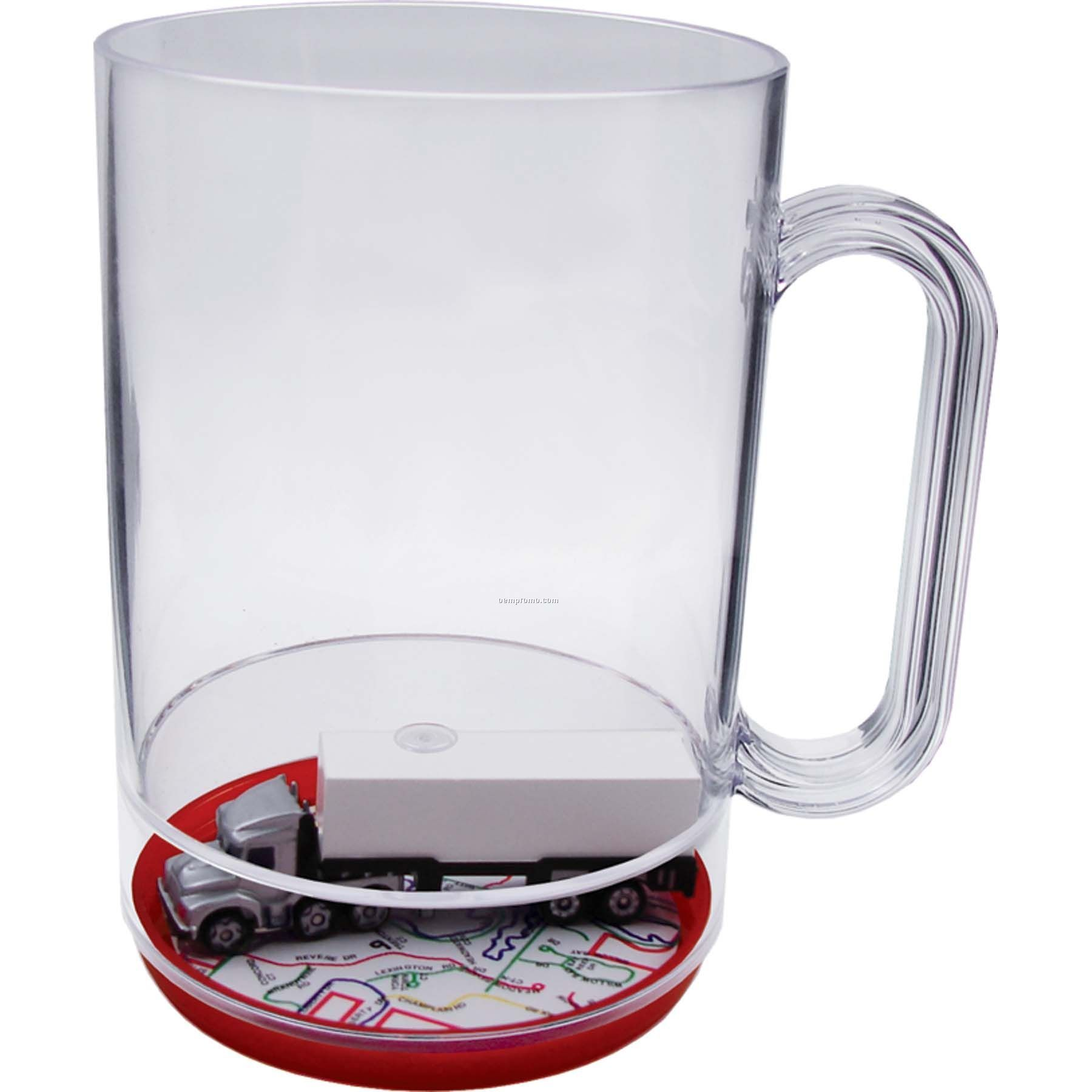 Semi Full 16 Oz. Compartment Mug