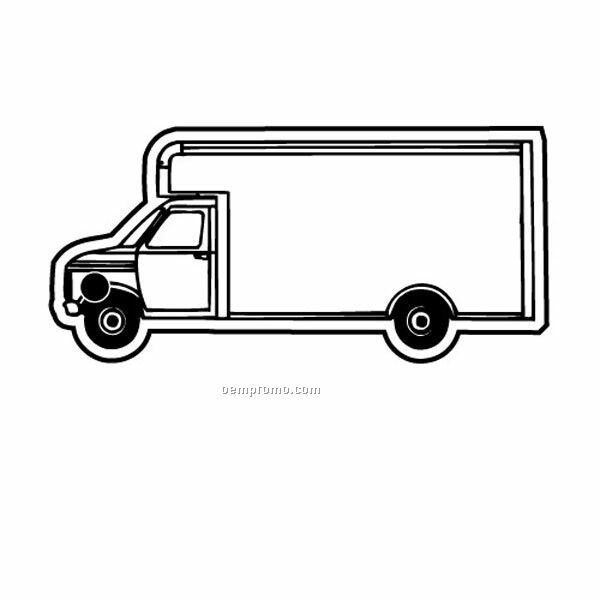 Stock Shape Collection Truck 2 Key Tag