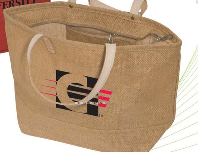 Hamptons Jute Tote Bag