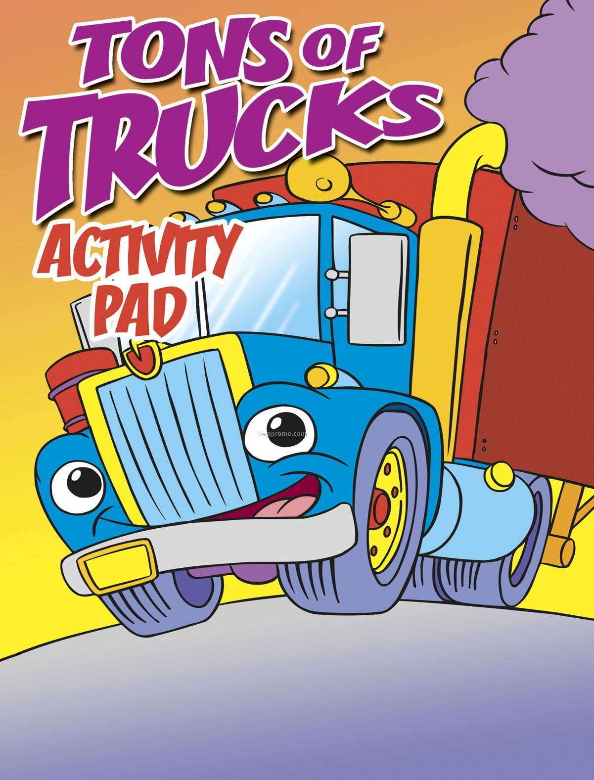 Tons Of Trucks Activity Coloring Book Fun Pack