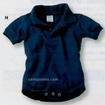 Rabbit Skins Infant Sport Shirt Creeper