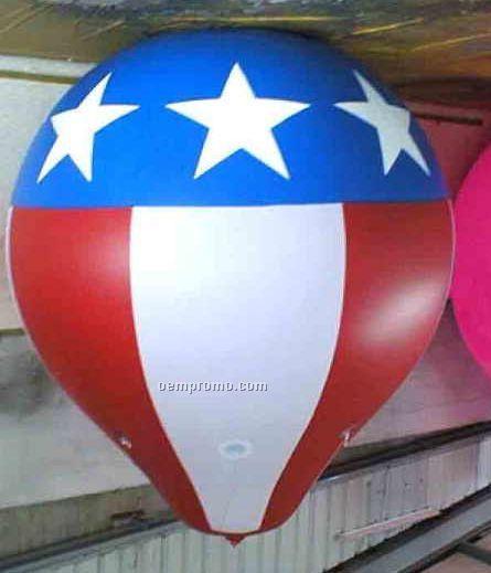 Pvc Helium Tethered Hot Air Balloon Shape (11')