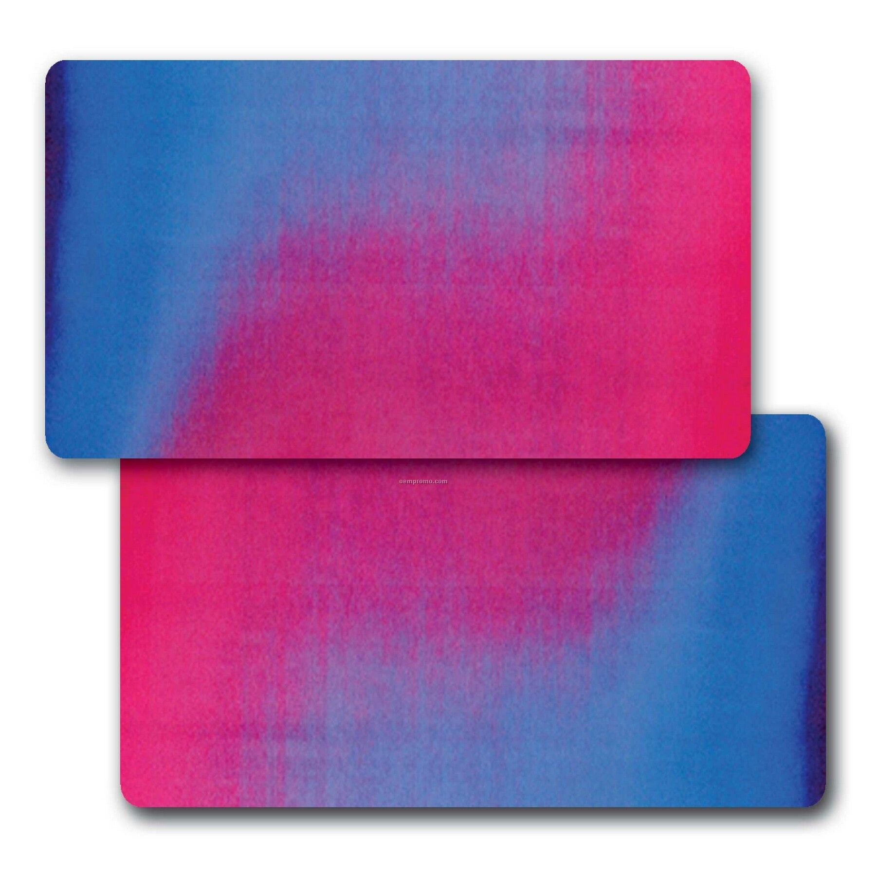 Business Card Lenticular Color Changing Flip Effect Blank 2