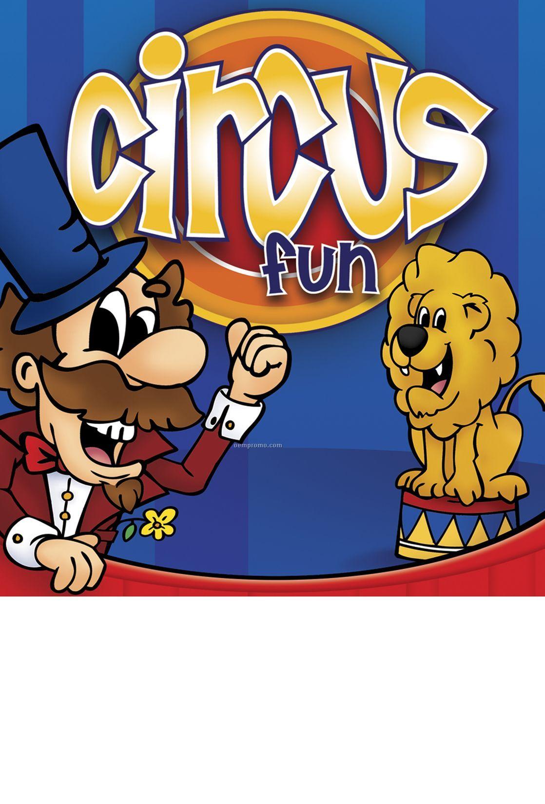 Circus Fun Activity/Coloring Book Fun Pack